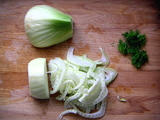 Slicedfennel
