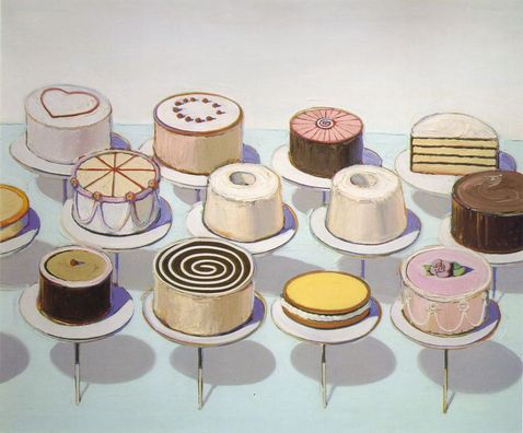 wayne thiebaud cupcake. Wayne Thiebaud (born 1920)